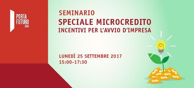 Seminario Microcredito Bari